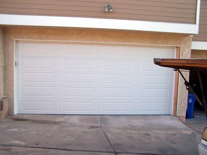 Sectional Garage Door Panel Replacement : Standard quot high long panel steel sectional garage door